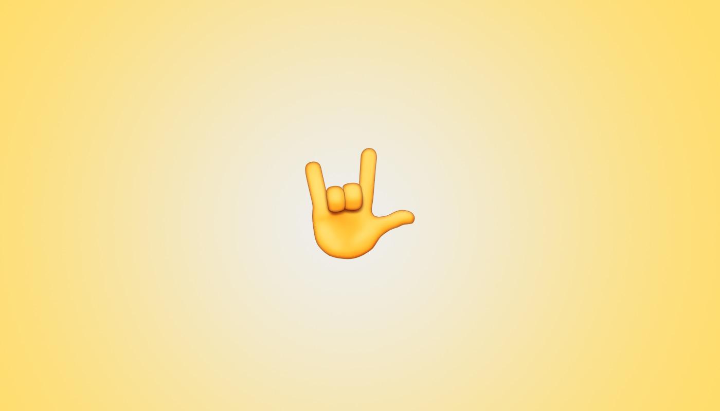 Emoji Handzeichen