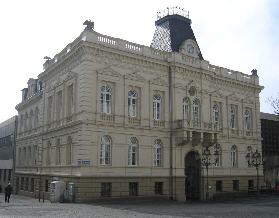 Altes Rathaus in Iserlohn, erbaut 1874.
