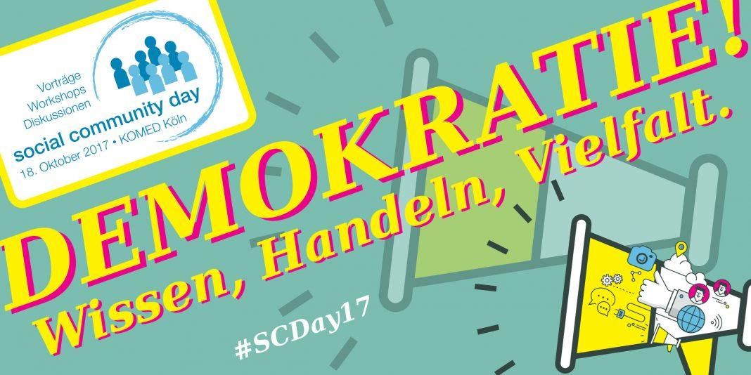 Header zum Social Community Day; Quelle: Georg Jorczyk / Grimme-Institut; pixome u. Mr_Vector / Fotolia.com