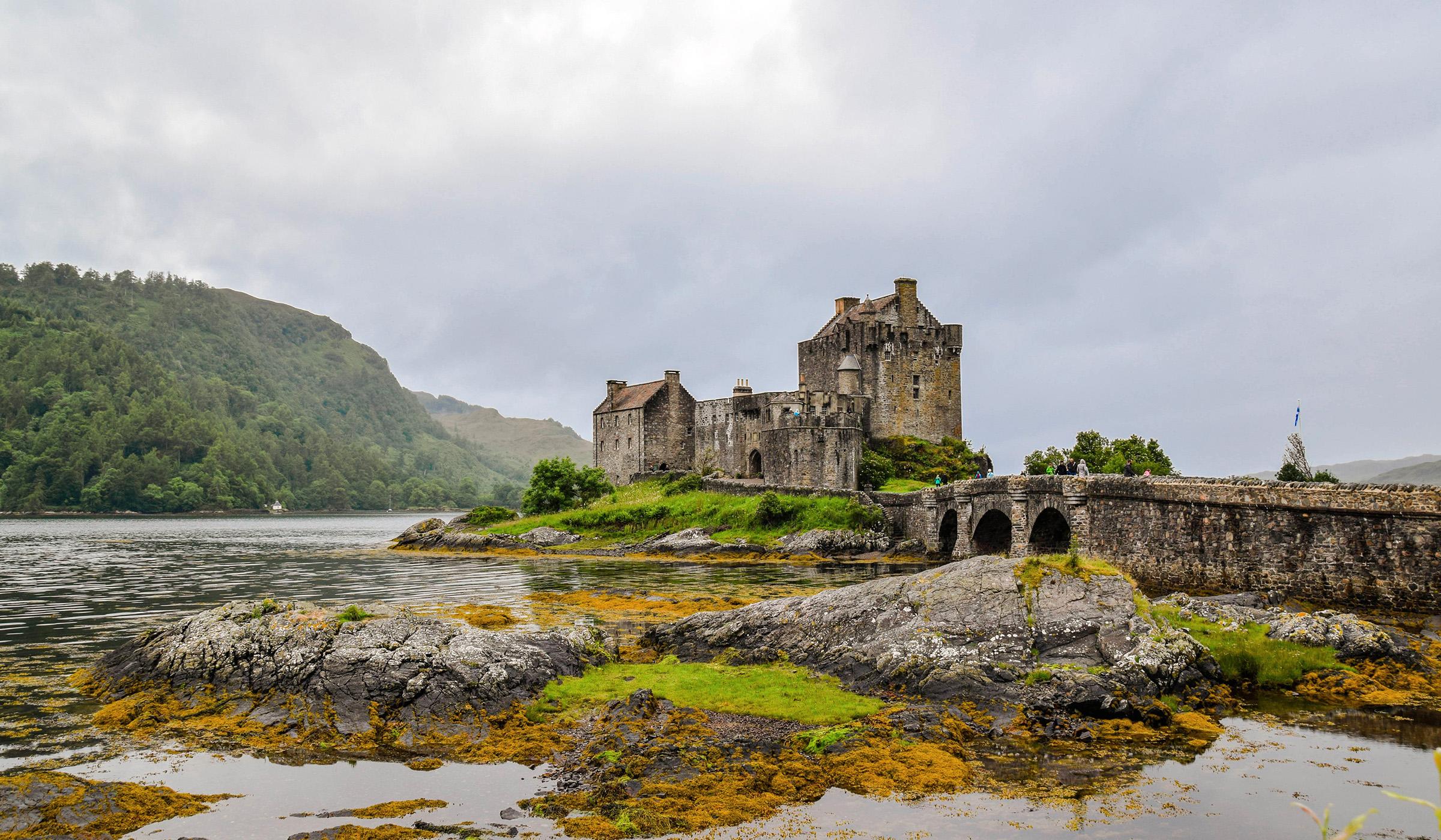 Paradies Schottland Taubenschlag