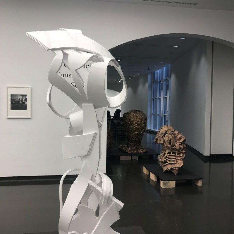 Abbildung einer Skulptur aus der Sonderausstellung, Copyright: Stadtmuseum Düsseldorf