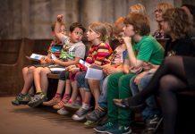 KinderUni in der St. Reinoldikirche in der Dortmunder Innenstadt