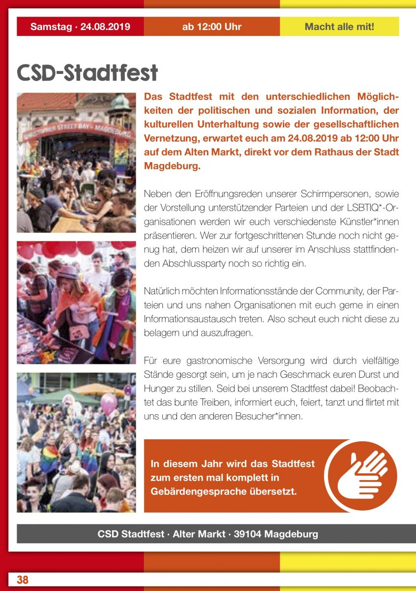 CSD Magdeburg 2019