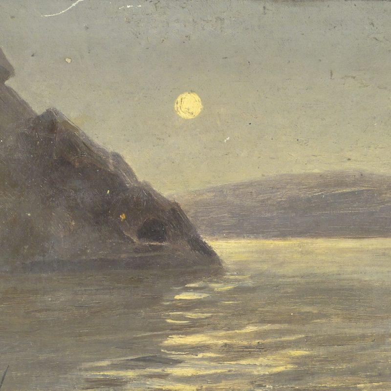 Fritz Overbeck_Mond überm Fjord_1891_klein