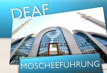 Moscheeführung in Gebärdensprache für Gehörlose