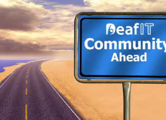 DeafIT Community Ahead